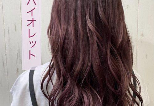 ピンクバイオレットカラー